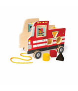 Manhattan Toy My Fire Truck Pull Toy