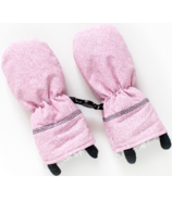 Juddlies Winter Mitts Salt & Pepper Pink