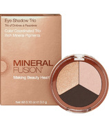 Mineral Fusion Eye Shadow Trio Espresso Gold