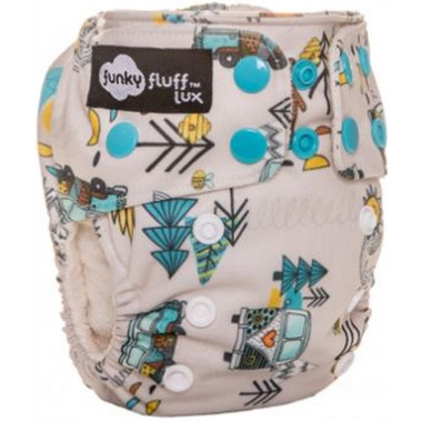 Funky Fluff Newborn Diaper System Kumbaya