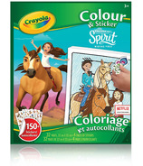 Crayola Colour & Sticker Book Spirit Riding Free