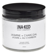 Buck Naked Soap Company Jasmine + Charcoal Sugar Scrub
