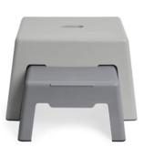 Skip Hop Double-Up Step Stool Grey