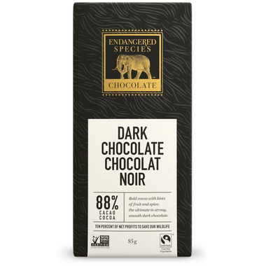 Endangered Species Dark Chocolate Bar