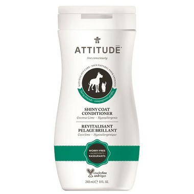 ATTITUDE Furry Friends Shiny Coat Pet Conditioner Coco Lime