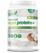 Genuine Health Fermented Vegan Proteins+ Natural Coconut Flavour
