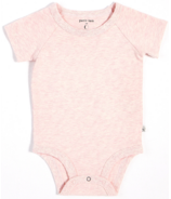 petit lem Heather Pink Onesie 3M-18M