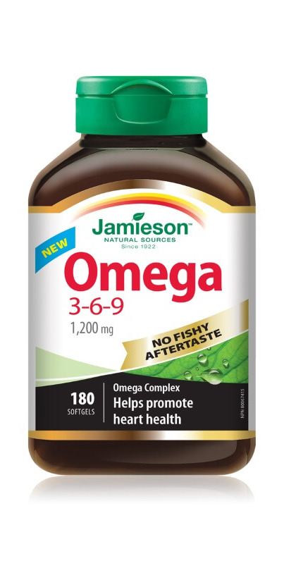 Buy Jamieson Omega 3 6 9 At Well Ca Free Shipping 35 In Canada