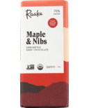 Raaka Chocolate Maple & Nibs