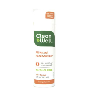 CleanWell All-Natural Hand Sanitizer Spray