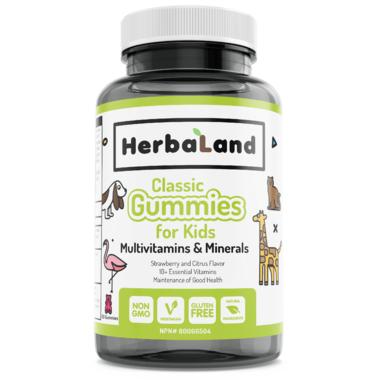 Herbaland Kids Gummy Multivitamins