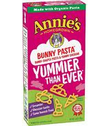 Annie's Homegrown Bunny Pasta avec un délicieux fromage