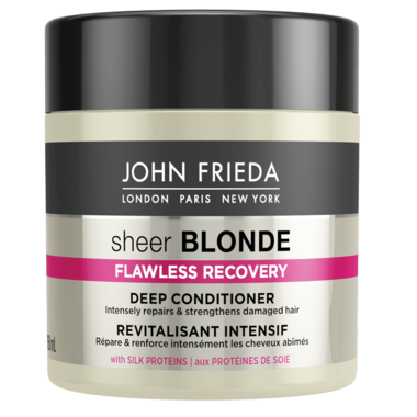 John Frieda Sheer Blonde Flawless Recovery Deep Conditioner