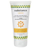 Matter Company Substance Crème solaire naturelle non parfumée