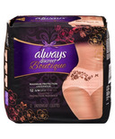 Always Discreet Boutique Incontinence Underwear Peach Small Medium