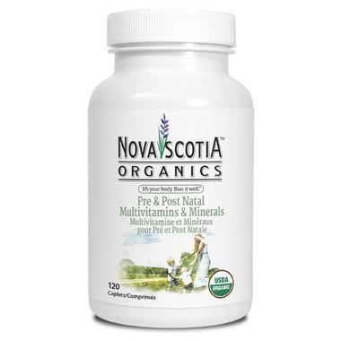 Nova Scotia Organics Pre & Post Natal Multivitamins & Minerals