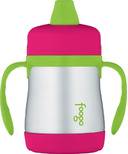 Foogo Stainless Steel Vacuum Insulated Sippy Cup Watermelon & Green