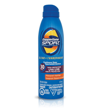 Coppertone Sport Continuous Spray Sunscreen