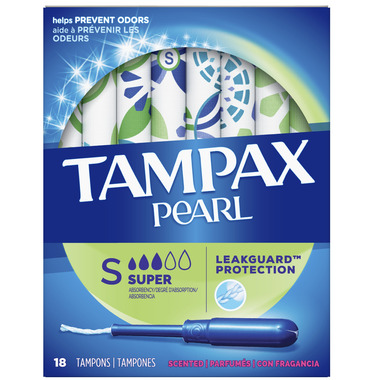 Tampax Pearl Fresh Scented