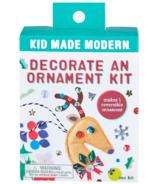 Kid Made Modern Decorate an Ornament Kit Reindeer