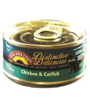 Lick Your Chops Distinctive Delicacies Chicken & Catfish Cat Food Case
