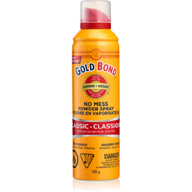 Gold Bond No Mess Powder Spray Classic
