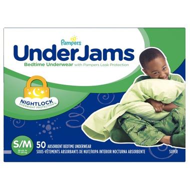 Pampers UnderJams Bedtime Boys Underwear