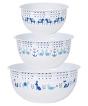 Now Design Bowl Set Mix & Serve Meadowland
