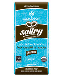 zazubean Saltry Sea Salt & Almonds 65% Dark Chocolate