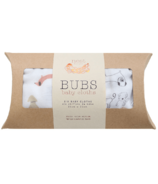 Nest Designs Bamboo Bubs Baby Washcloth Set Puppy