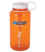 Nalgene 32 Ounce Tritan Wide Mouth Orange with White Lid