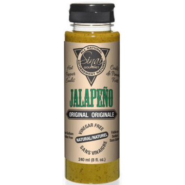 Sinai Gourmet Jalapeno Original Hot Pepper Coulis