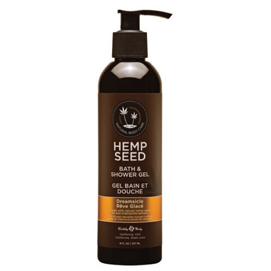 Earthly Body Hemp Bath And Shower Gel Dreamsicle