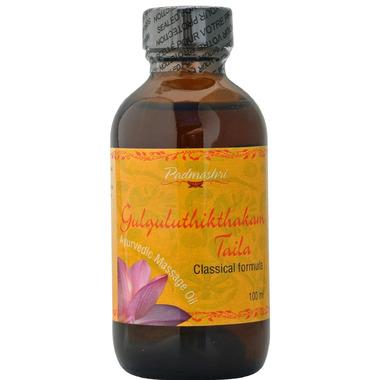 Padmashri Classic Ayurvedic Massage Oil Gulguluthikthakam