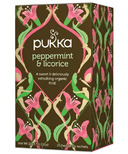 Pukka Peppermint & Licorice Tea