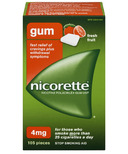 NICORETTE Gum Fresh Fruit