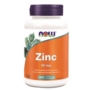 NOW Foods Zinc Gluconate 50 mg