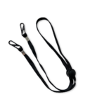 Happy Adjustable Lanyard Black