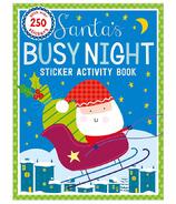 Make Believe Ideas Santa's Busy Night Sticker Activity Book