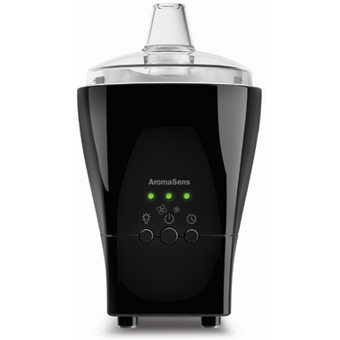 Hubmar AromaSens Ultrasonic Aromatherapy Nebulizer in Black