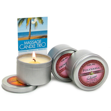 Earthly Body 3-in-1 Suntouched Candles Gift Set
