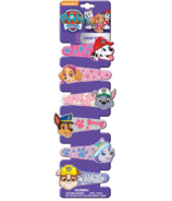 Paw Patrol Printed Glitter Snap Hair Clips 6 Pack