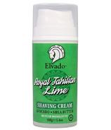 Elvado Royal Tahitain Lime Shave Cream Pump