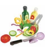 Hape Healthy Salad Playset