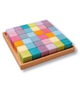 Grimm's Building Set Squares Pastel