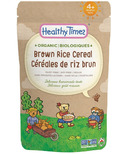 Healthy Times Organic Baby Cereal Brown Rice