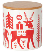 Now Designs Canister Medium Yuletide