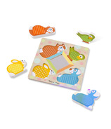 Melissa & Doug Peek- a- Boo Touch & Feel Puzzle