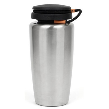 Nalgene 32 Ounce Stainless Steel Wide Mouth Loop Top