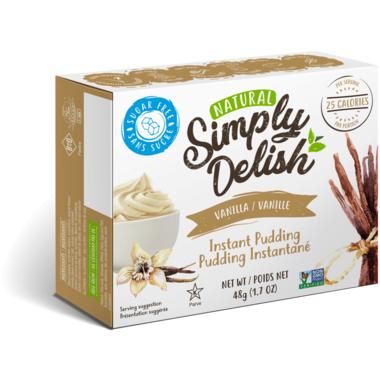 Simply Delish Instant Vanilla Pudding